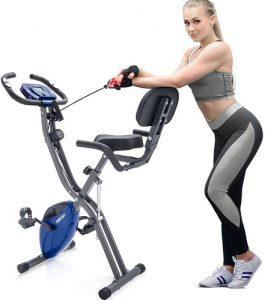 Merax-3-in-1-Adjustable-Folding-Exercise-Bike